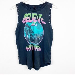 Forever 21 Believe And Make It Happen Graphic Tee